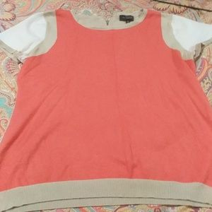 Short sleeve sweater top from The limited XL